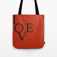 LOVE RED Tote Bag