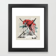 I Remember Nothing Framed Art Print