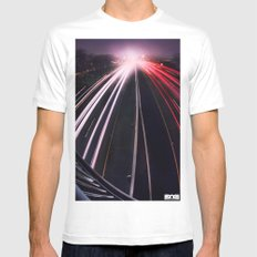 Passing By SMALL White Mens Fitted Tee