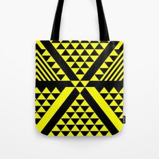 Black & Yellow Tote Bag