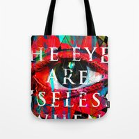Useless Eyes Tote Bag