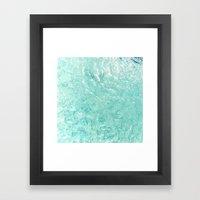 Pool Floor Framed Art Print