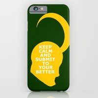 Keep Calm And Submit iPhone 6 Slim Case