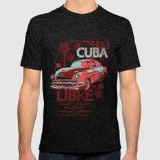 Cuba Libre Mens Fitted Tee Tri-Black SMALL