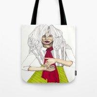 Fashion Illustration - Patterns and Prints - Part 6 Tote Bag