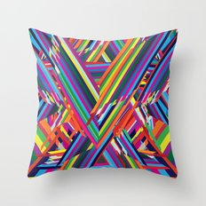 The Shattering Throw Pillow