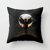 Lost In The World Of Hum… Throw Pillow