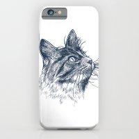 Cat Portrait iPhone 6 Slim Case