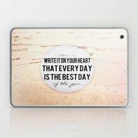 Write It On Your Heart  Laptop & iPad Skin