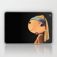 Girl with a Pearl Earring Laptop & iPad Skin