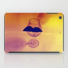 Hipster Wine Glass iPad Case