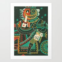 Jack of Hearts Art Print