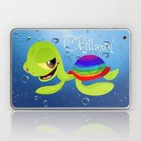Chillaxin' Turtle Laptop & iPad Skin