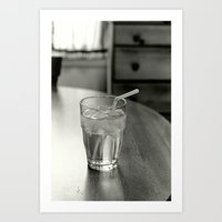 Cup of Water Art Print