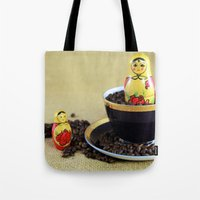 Russian Coffee Tote Bag