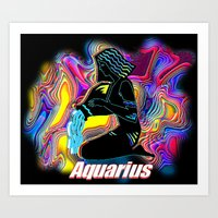 Aquarius Art Print
