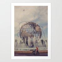 Travellers... Art Print