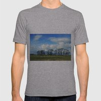 Hadrian's Wall Mens Fitted Tee Athletic Grey SMALL