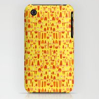 iPhone 3Gs & iPhone 3G Cases featuring Shells & Rounds - Citrus Charge by Tony M Luib