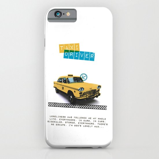 Taxi driver iPhone & iPod Case