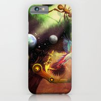 iPhone & iPod Case featuring Another Dimension by Pantalla 64