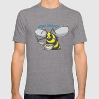 Miso Hornet Mens Fitted Tee Tri-Grey SMALL