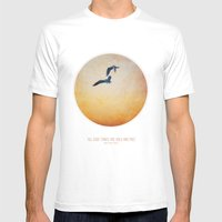 Gulls Mens Fitted Tee White SMALL