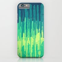 Green Grunge Color Splat… iPhone 6 Slim Case