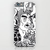 iPhone & iPod Case featuring cabeza by benjamin chaubard