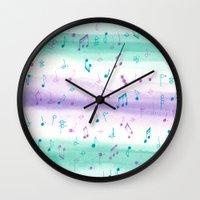 #102. JENNI (Musical Not… Wall Clock