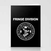 Fringe Division I wanna be sedated Stationery Cards