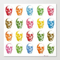 Colortherapy Canvas Print