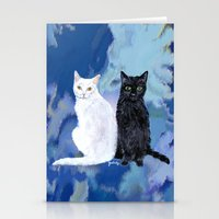 Kingston and Midnight Stationery Cards
