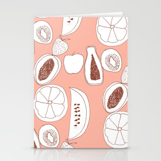 Fruits Stationery Card