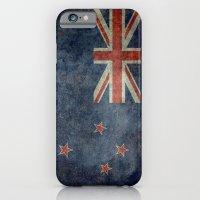 National Flag Of New Zea… iPhone 6 Slim Case