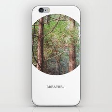 breathe. iPhone & iPod Skin