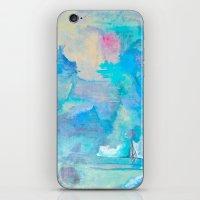 love portals  iPhone & iPod Skin