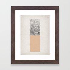 Oblong Framed Art Print