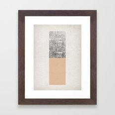 Oblong Framed Art Print
