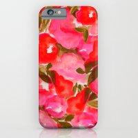 OUR SUMMER GARDEN- PINK iPhone 6 Slim Case