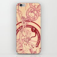 Linear Pink Confusion iPhone & iPod Skin