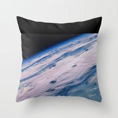 Terre espace Throw Pillow