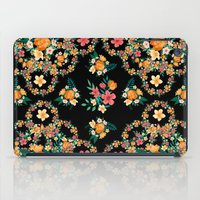 Abstract Floral Pattern iPad Case