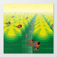 SF SolarBugs Canvas Print