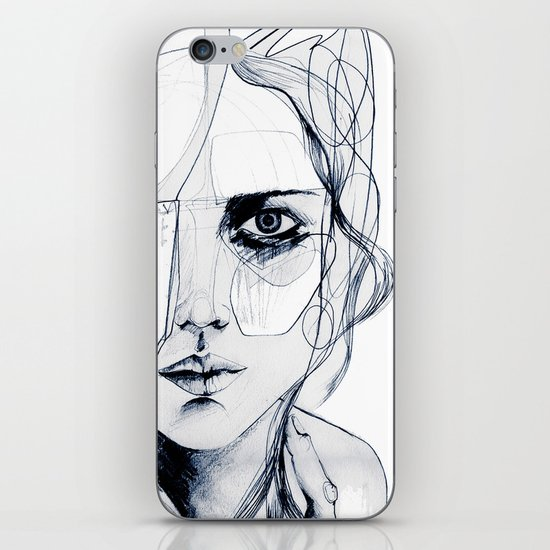 Sketch V iPhone & iPod Skin