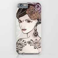iPhone & iPod Case featuring Belly Dance 2 by Vivian Lau