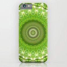 Mandala green meadow iPhone 6 Slim Case