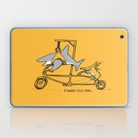 If Sharks Could Smile Laptop & iPad Skin