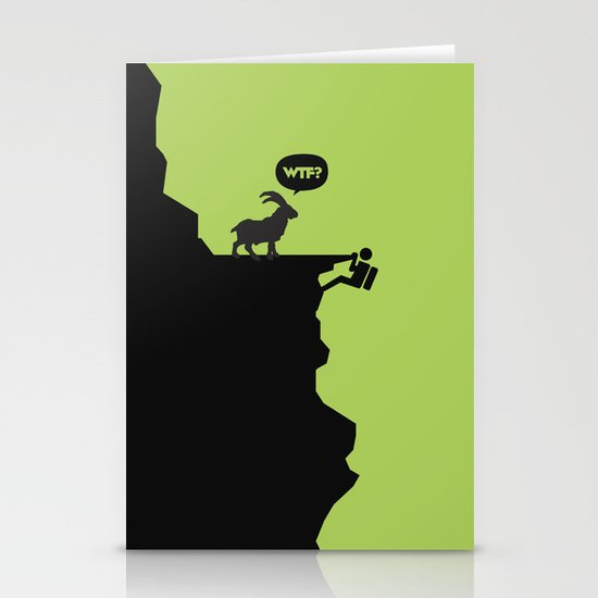 WTF? Stationery Card