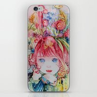 Nadias Dream Garden iPhone & iPod Skin
